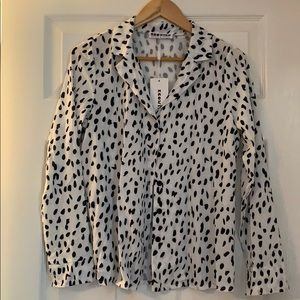 Long sleeve blouse - size small, new with tags